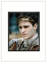 Joaquin Phoenix Autograph Signed Photo - Gladiator